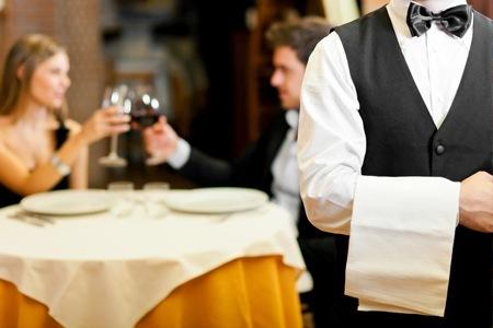 cameriere foto presa da lavoroinpenisola