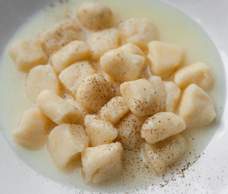 gnocchi di ricotta al parmigiano reggiano
