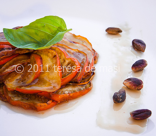 Melanzana rossa di Rotonda la ricetta al caramello