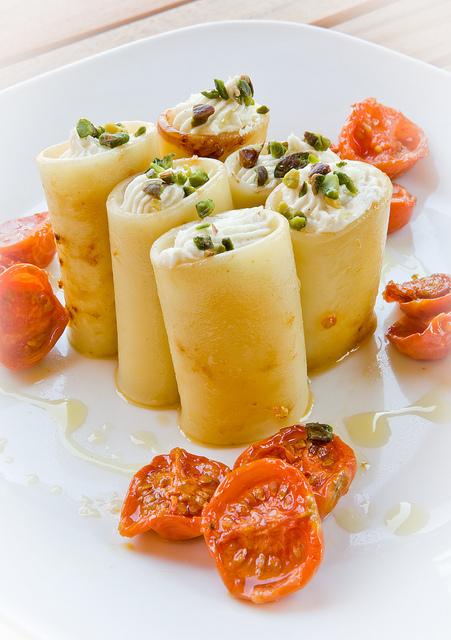 paccheri brandade mozzarella e baccalà 2