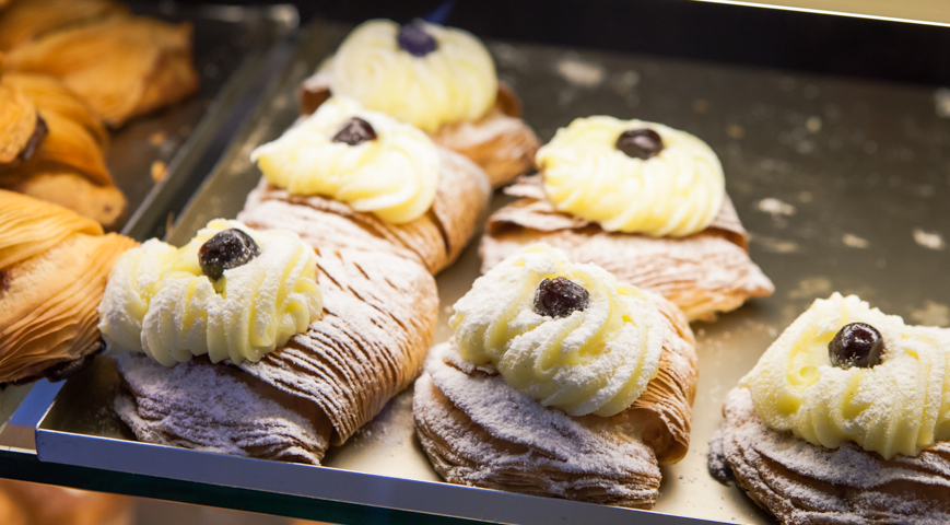 La pasticceria Pansa ad Amalfi