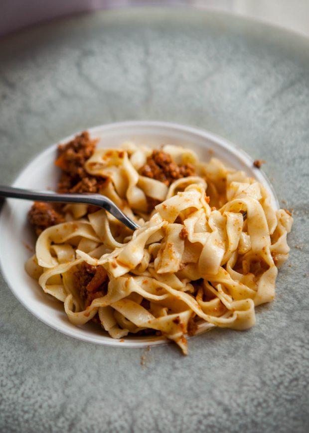 ricetta del ragù alla bolognese