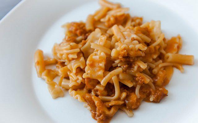 ragu di croste di parmigiano