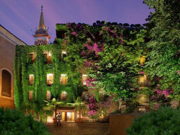 hotel raphael roma foto presa dal sito