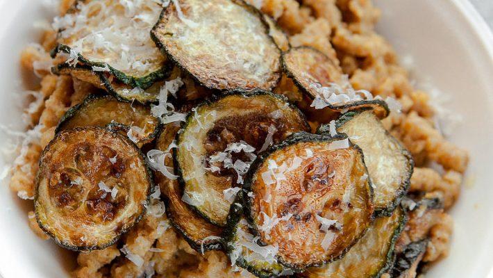 Passatelli con zucchine alla Nerano