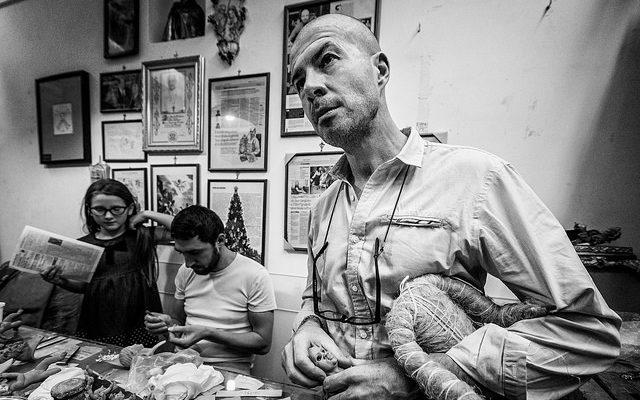 I pastori di Marco Ferrigno, un modo di osservare Napoli da una prospettiva unica