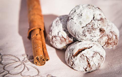 Biscotti croccanti al cioccolato, Chocolate crackles di Martha Stewart