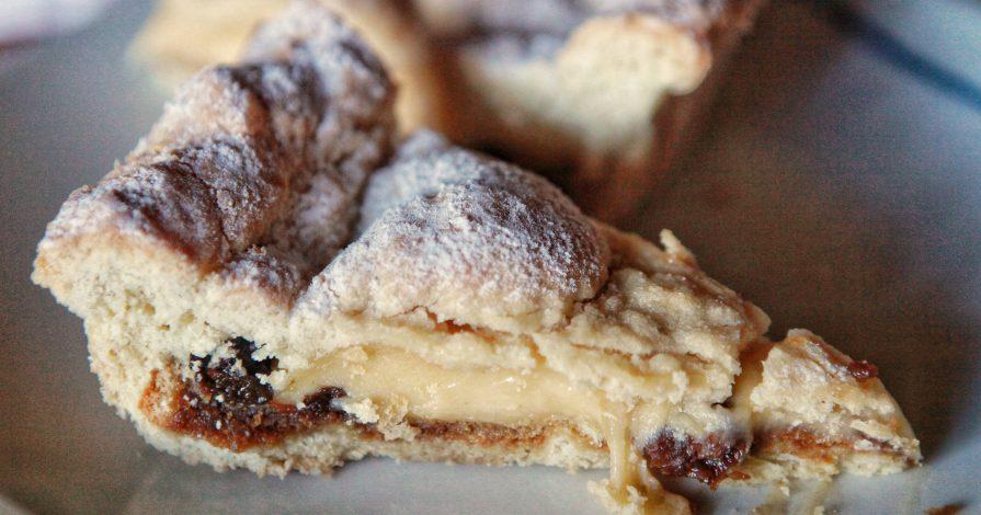 ricetta della Torta pasticciotto Crema e Amarena