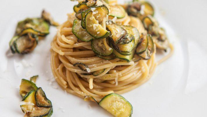 Spaghetti alla Nerano in versione light