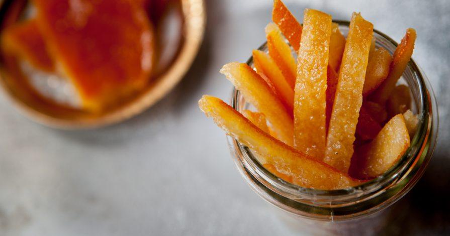 ricetta delle scorze di arance candite
