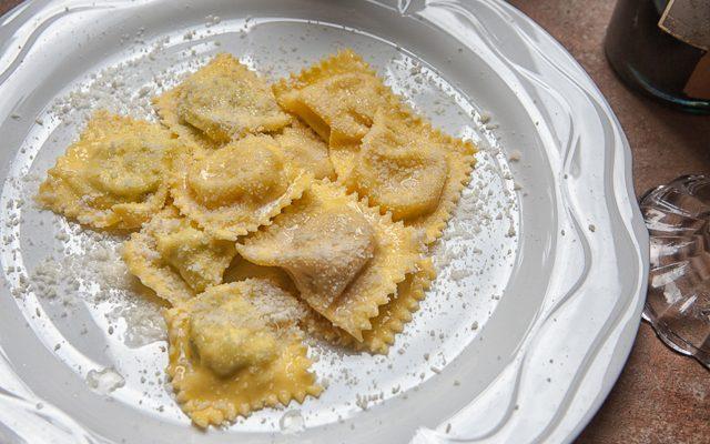 ricetta italiana ravioli di zucca